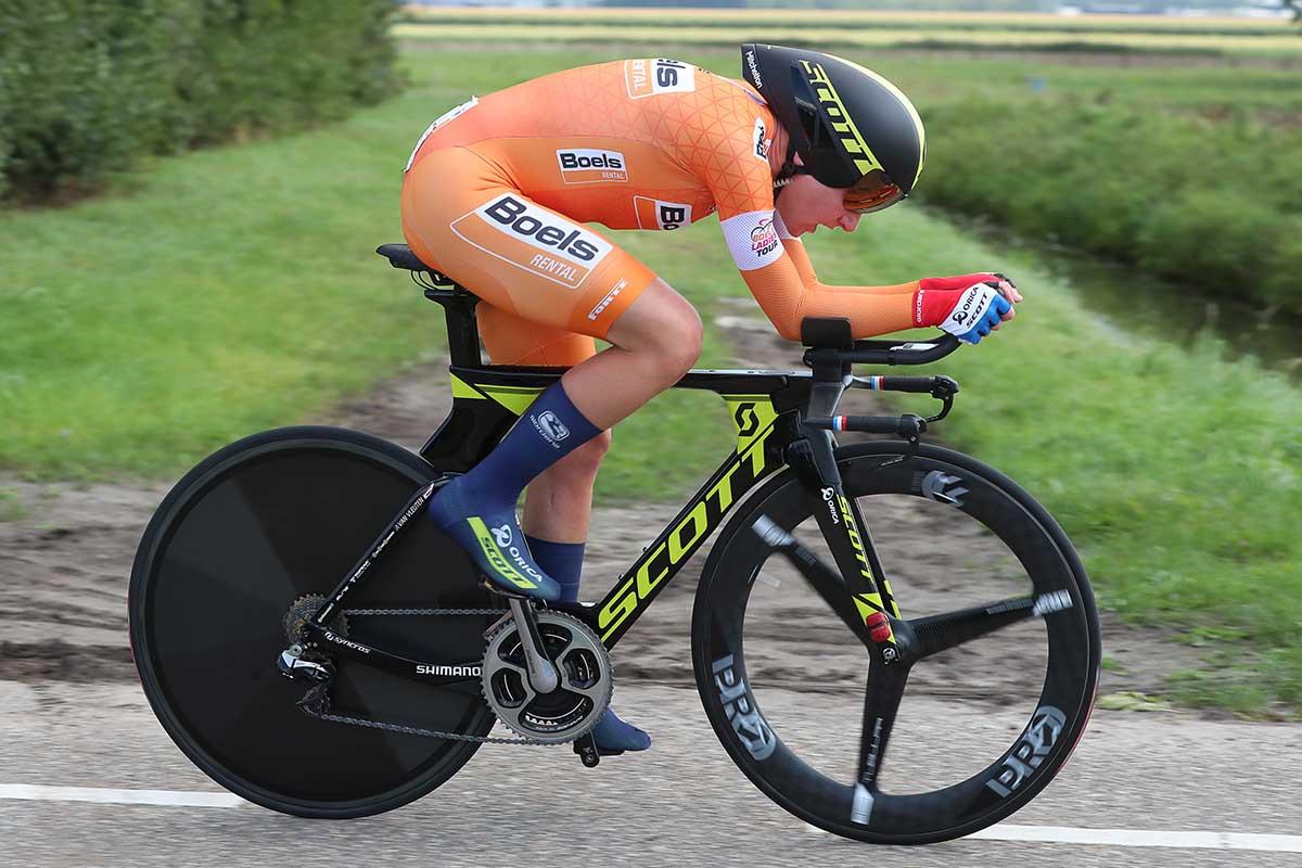 Annemiek van Vleuten vince la terza tappa a cronometro del Boels Rental Ladies Tour