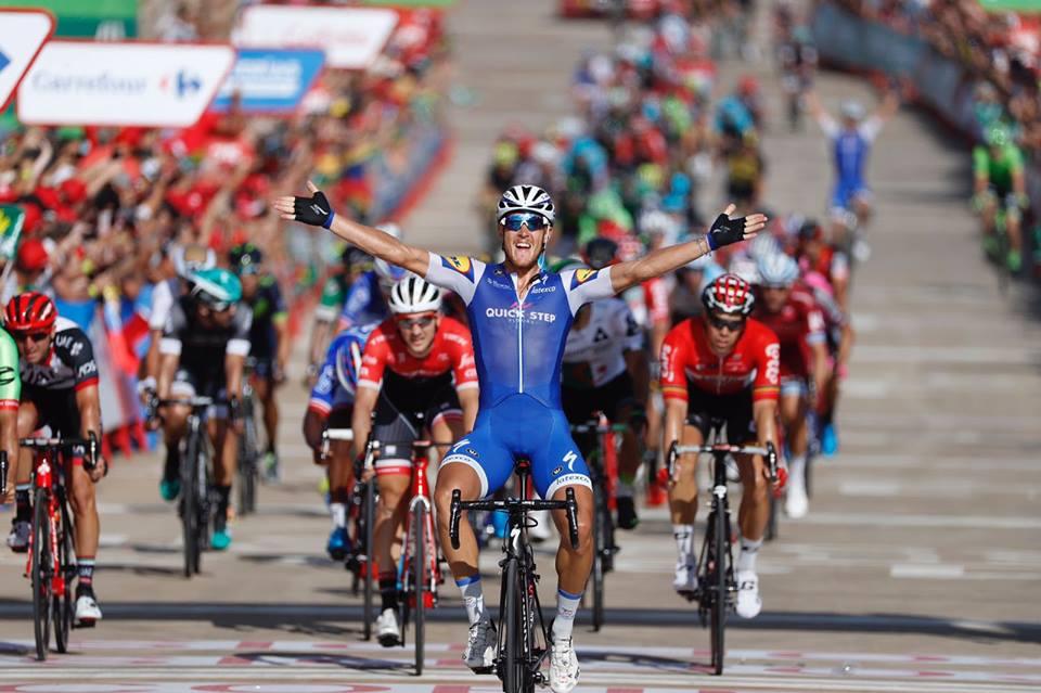 Matteo Trentin vince la quarta tappa della Vuelta a Espana 2017