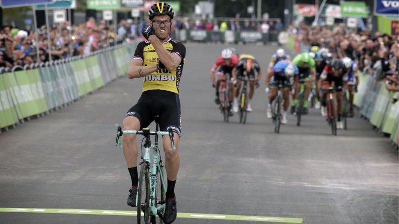Lars Boom vince la quinta tappa del BinckBank Tour