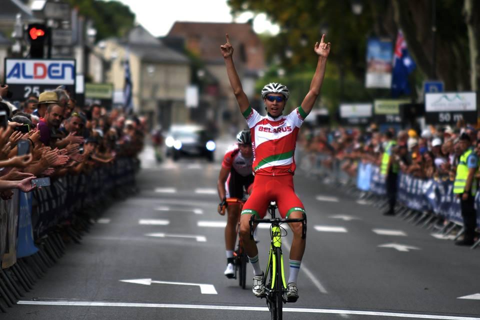 Il bielorusso Vasili Strokau vince la quinta tappa del Tour de l'Avenir