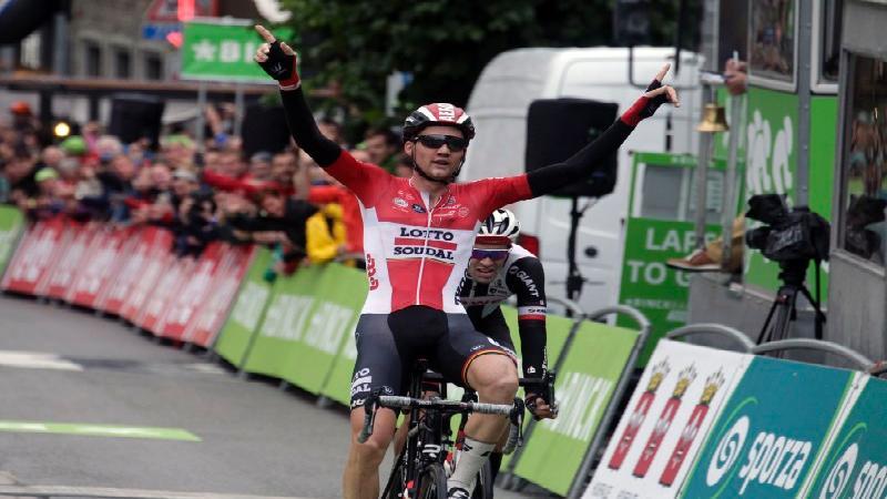 Tim Wellens vince la sesta tappa del BinckBank Tour