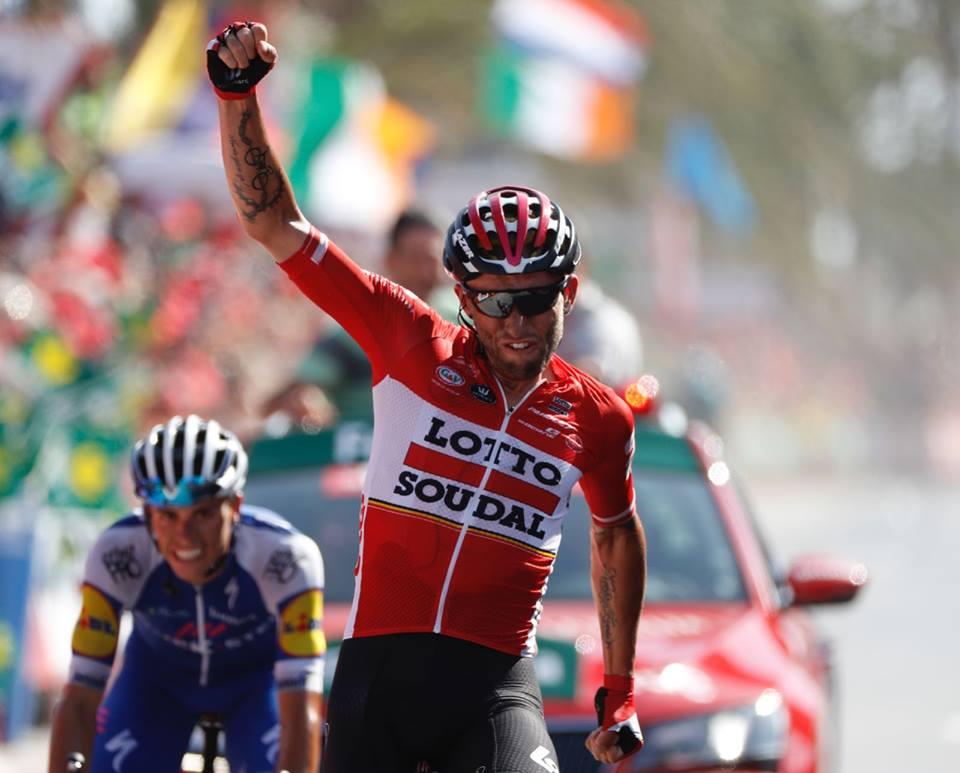 Tomasz Marczynski vince la sesta tappa della Vuelta a Espana 2017