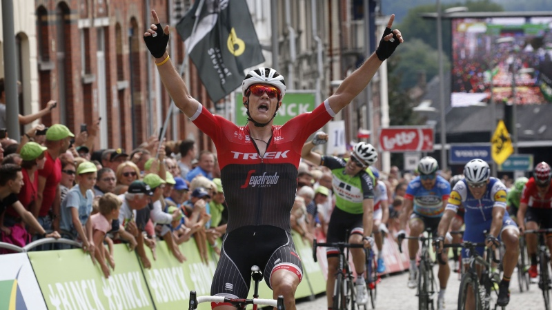 Jasper Stuyven vince l'ultima tappa del BinckBank Tour 2017