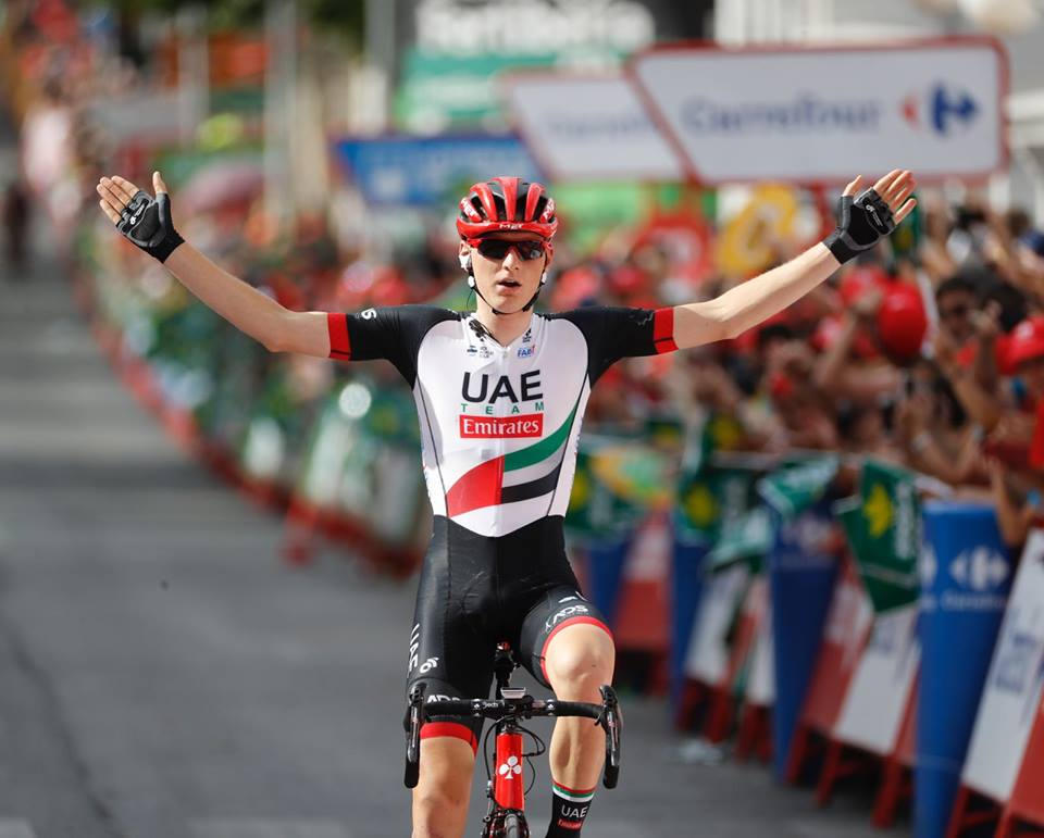 Matej Mohoric vince la settima tappa della Vuelta a Espana 2017