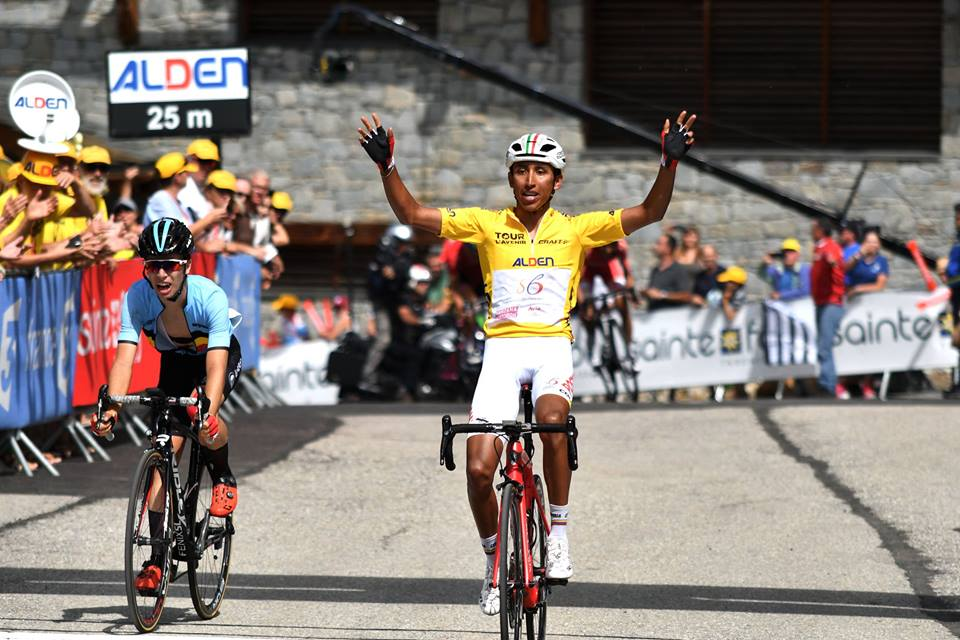 Egan Bernal vince anche l'ottava tappa del Tour de l'Avenir