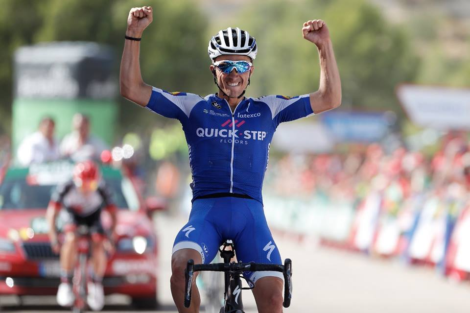 Julian Alaphilippe vince l'ottava tappa della Vuelta a Espana 2017