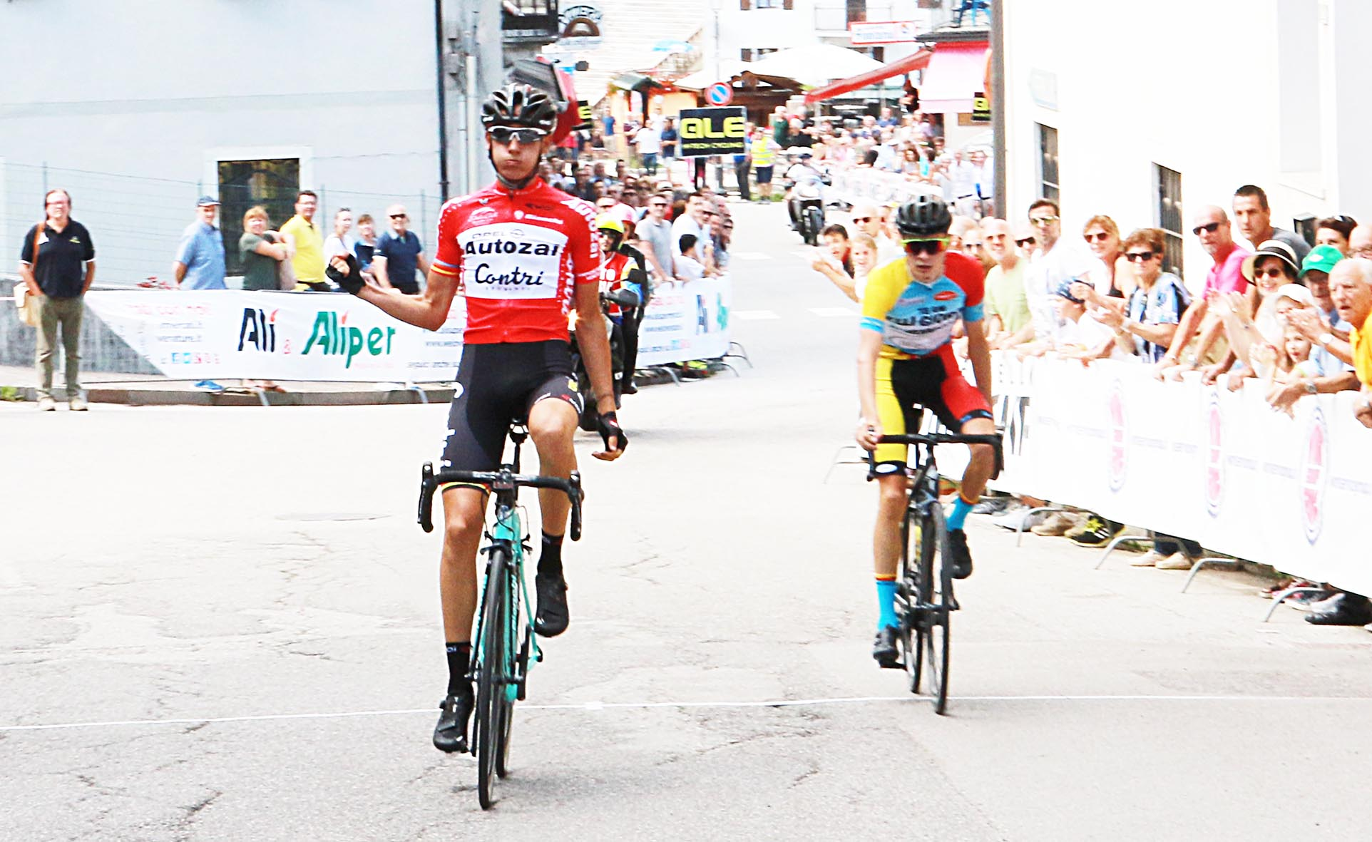 La vittoria di Filippo Zana ad Enego