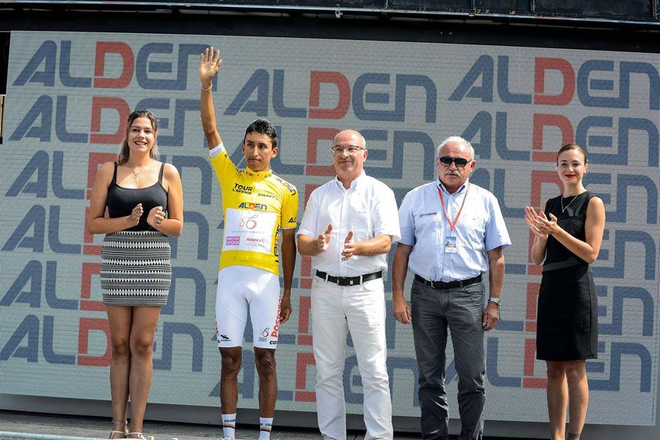 Egan Bernal vince il Tour de l'Avenir 2017