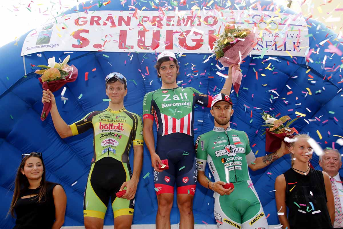 Il podio del 22° Gp San Luigi a Caselle di Sommacampagna