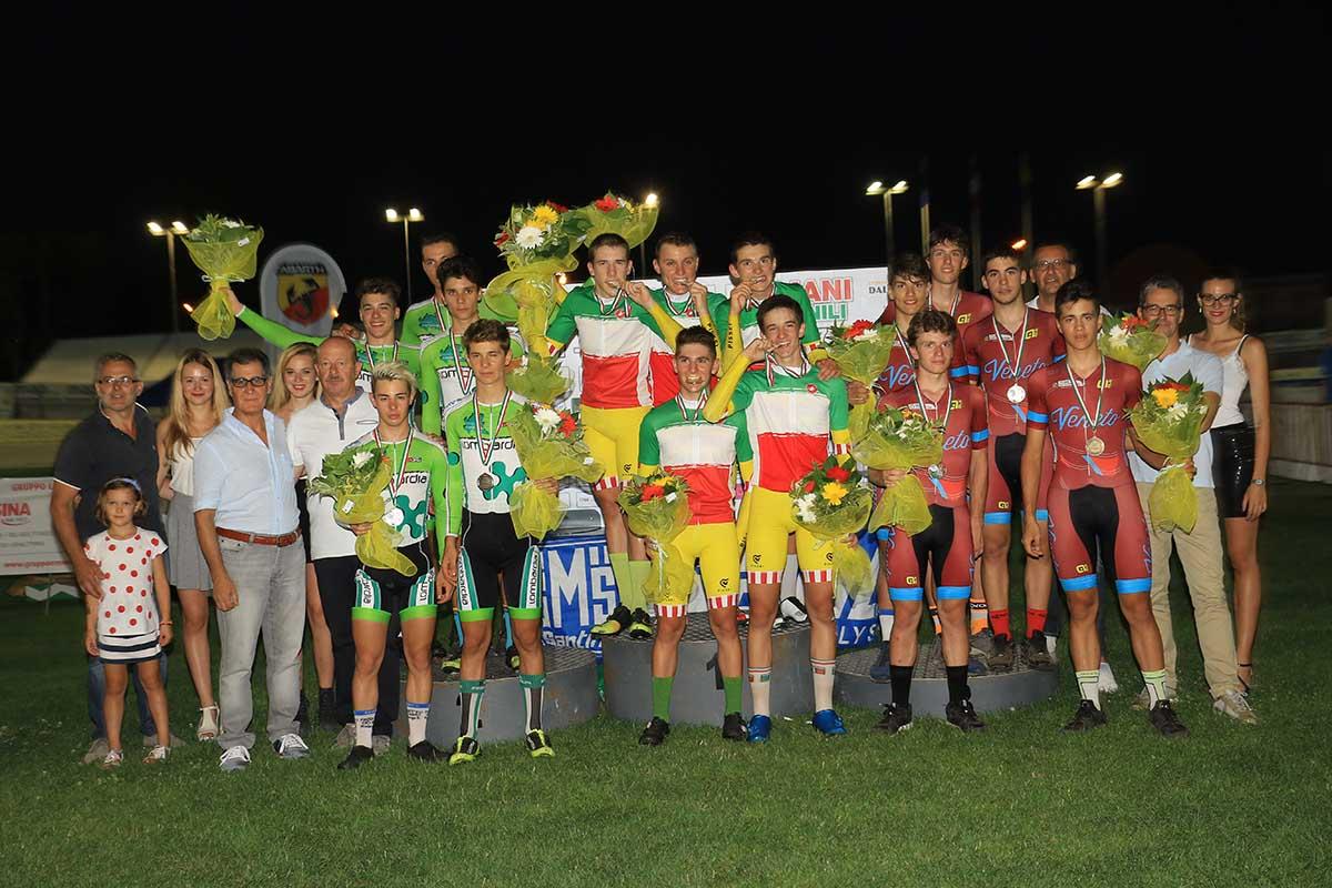 Campionato Italiano dell'Inseguimento a squadre Allievi