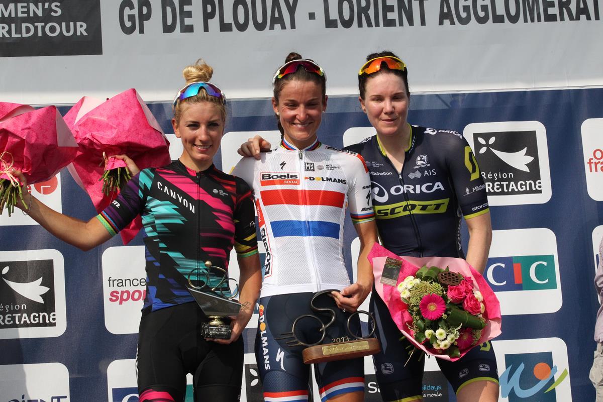 Il podio del Grand Prix di Plouay Lorient Agglomération