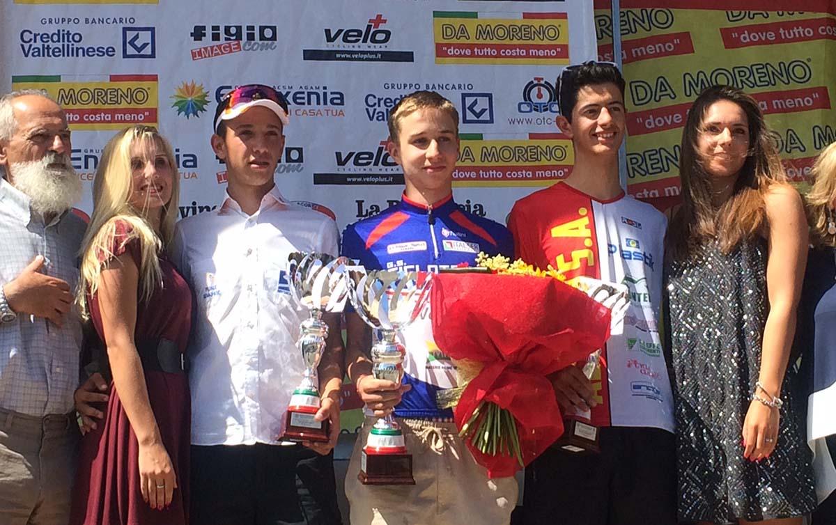 Sergio Meris vince la seconda prova del 69° Giro della Provincia di Como