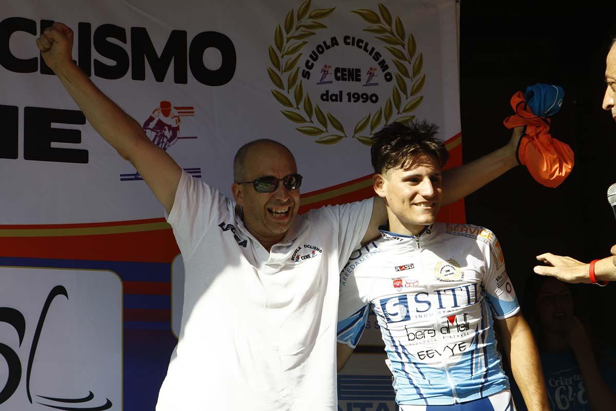 Grande gioia per Rocco Imbruglia e per il direttore sportivo Marco Valoti