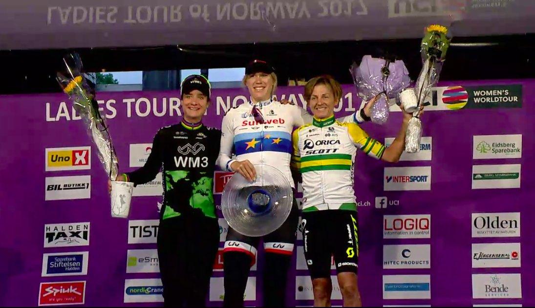 Ellen Van Dijk vince il prologo del Ladies Tour of Norway