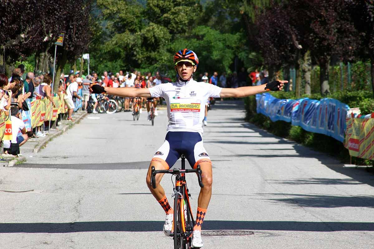 Andrea Piccolo vince la Olgiate Comasco-Orino per Allievi
