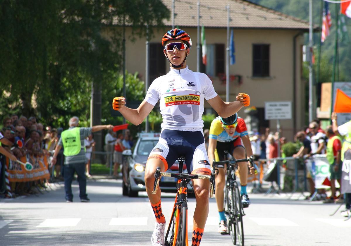 Andrea Piccolo vince la Mariano Comense - Ghisallo