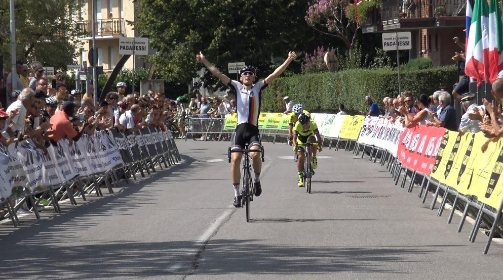 Il tedesco Niklas Markl vince anche il 47° Trofeo Paganessi seconda prova della 2 Giorni di Vertova 2017