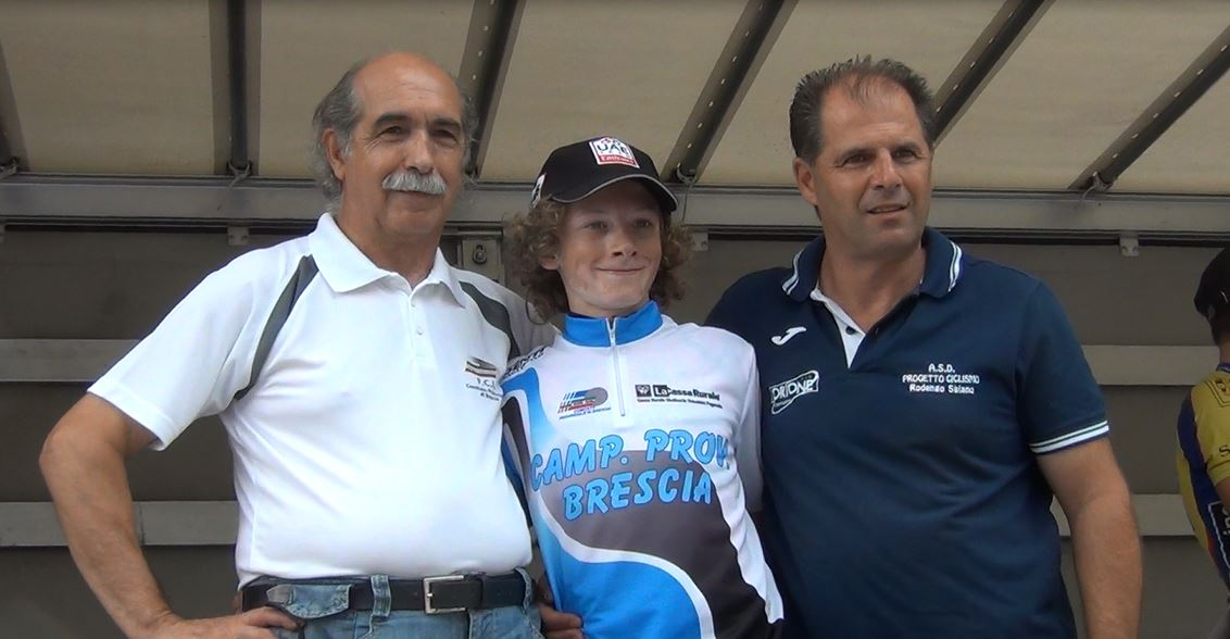 Luca Furlan campione provinciale bresciano Esordienti 1° anno 2017
