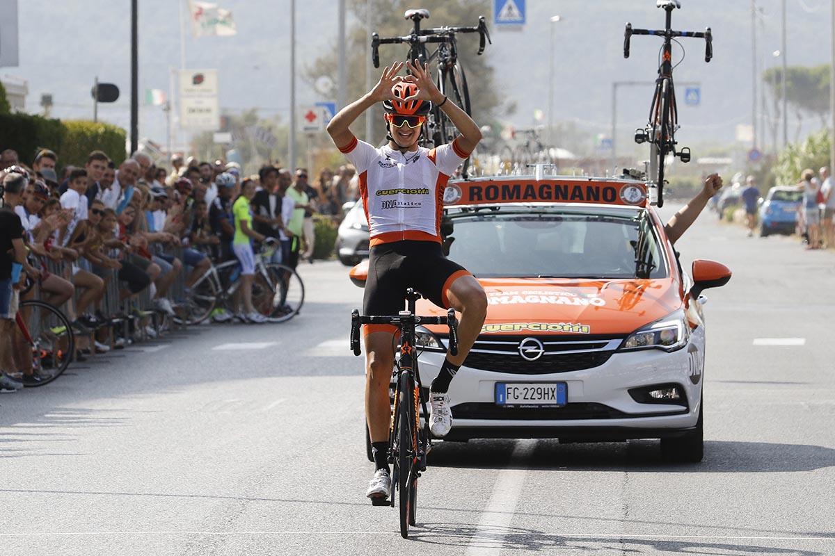 Omar Marouan vince a Marinella di Sarzana
