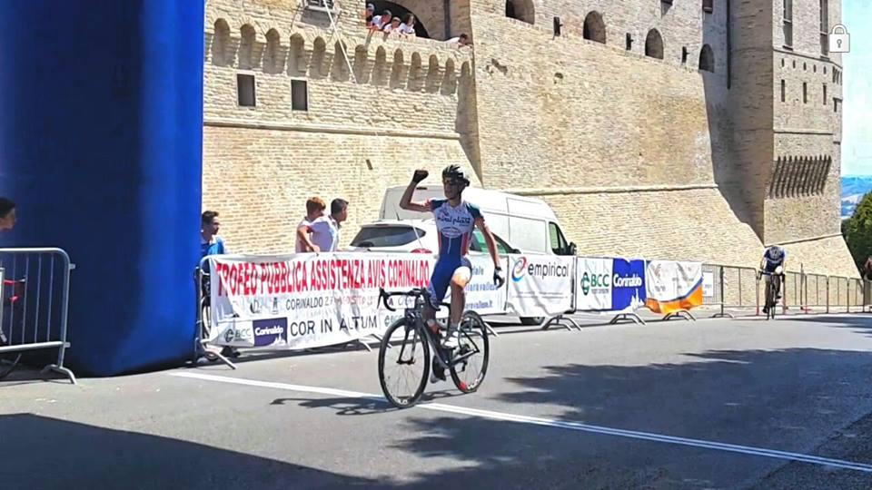 Matteo Bertesago vince a Corinaldo