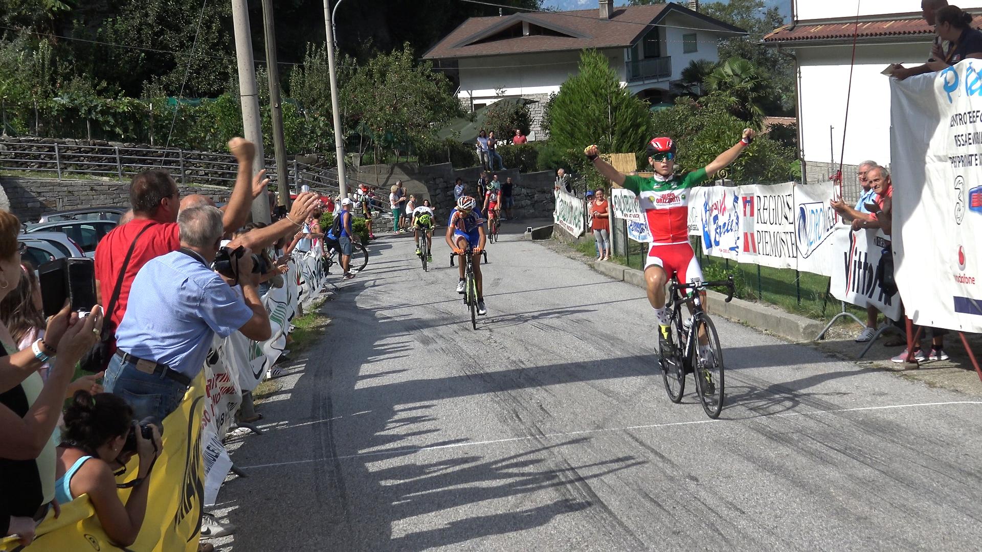 Il campione italiano Manuel Oioli vince a Fomarco