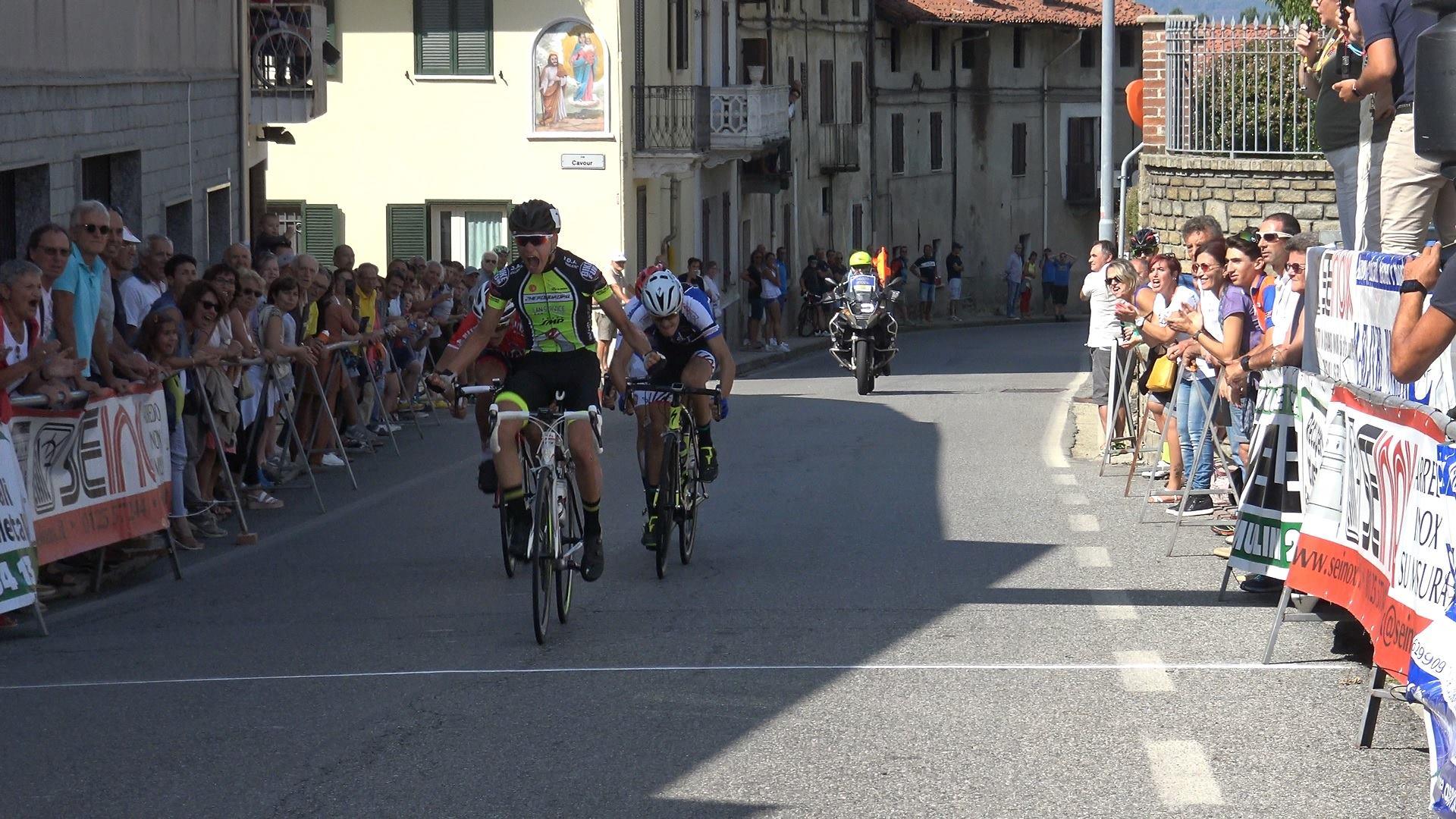Stefano Rizza vince la gara Allievi di Bollengo