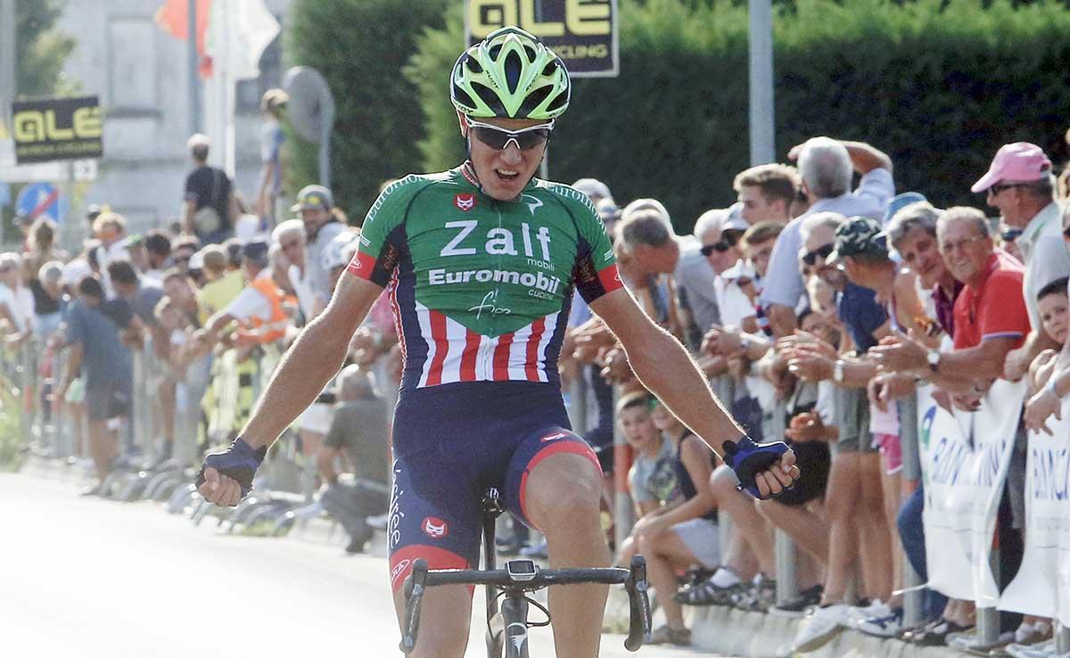 Riccardo Lucca vince a Vigonza
