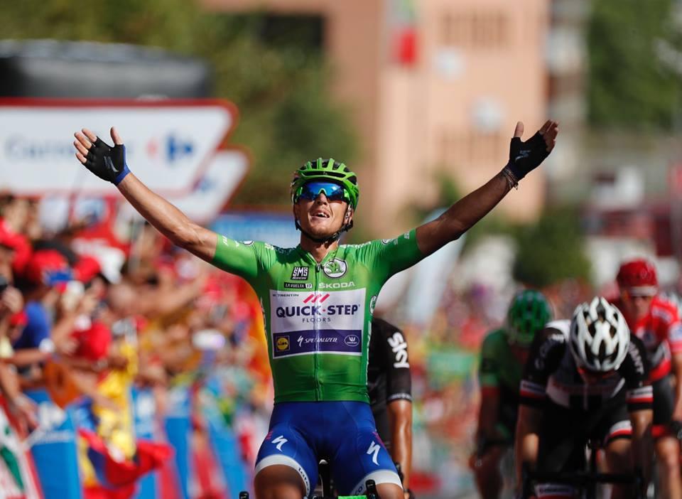 Matteo Trentin vince la tredicesima tappa della Vuelta a Espana 2017
