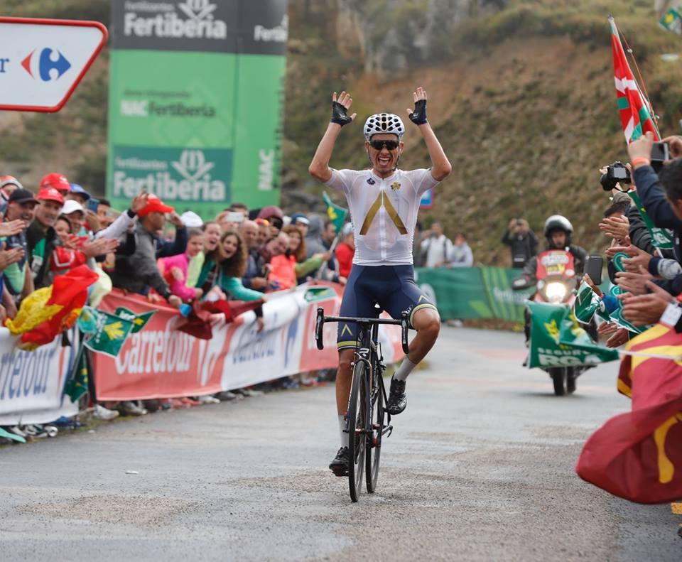Stefan Denifl vince la 17/a tappa della Vuelta a Espana