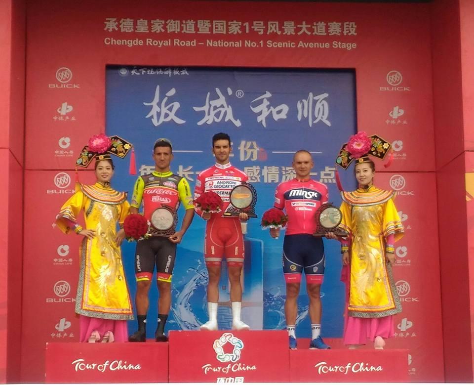 Luca Pacioni vince la prima tappa del Tour of China I