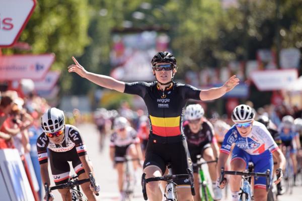 Jolien D'hoore vince la Madrid Challenge by la Vuelta 2017