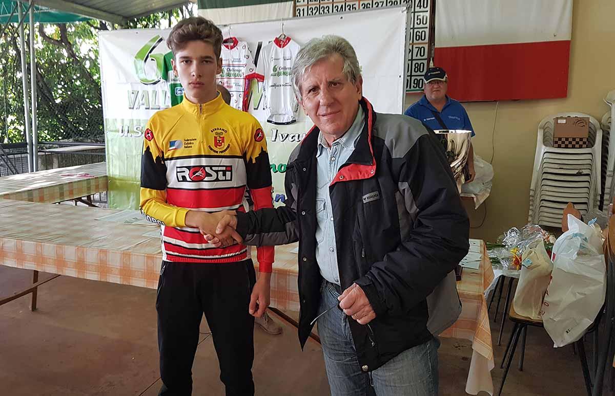 Nicola Plebani campione bergamasco degli Scalatori