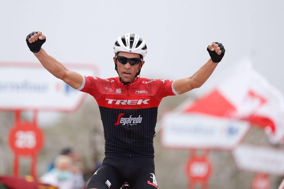 Alberto Contador vince la ventesima tappa della Vuelta a Espana