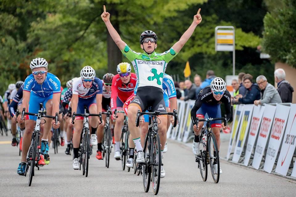 Davide Ferrari vince la seconda tappa del Gp Ruebliland in Svizzera