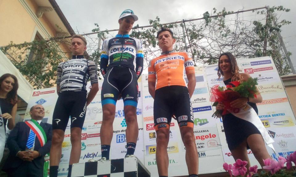 Il podio del Trofeo Lamonica di Osimo