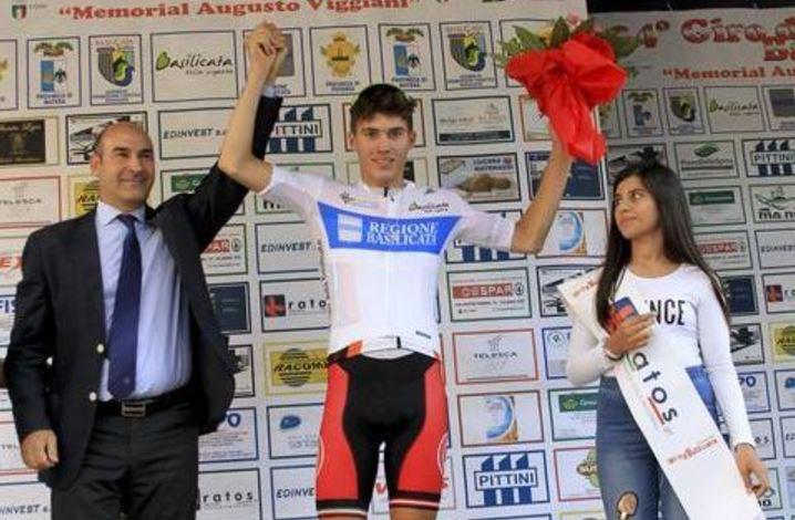 Il britannico Mason Hollyman vince la seconda tappa del Giro di Basilicata