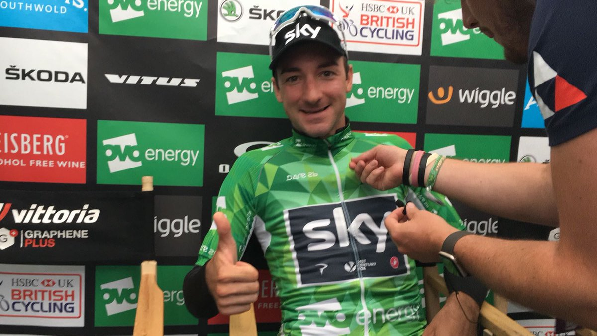 Elia Viviani vincitore a tavolino della seconda tappa del Tour of Britain 2017