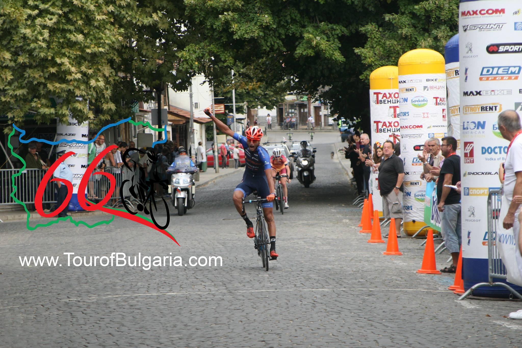 Stanimir Cholakov vince l'ultima tappa del Tour of Bulgaria