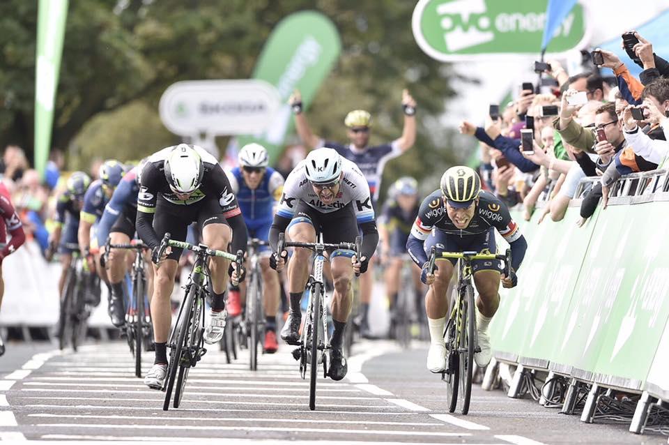 Caleb Ewan vince la terza tappa del Tour of Britain 2017