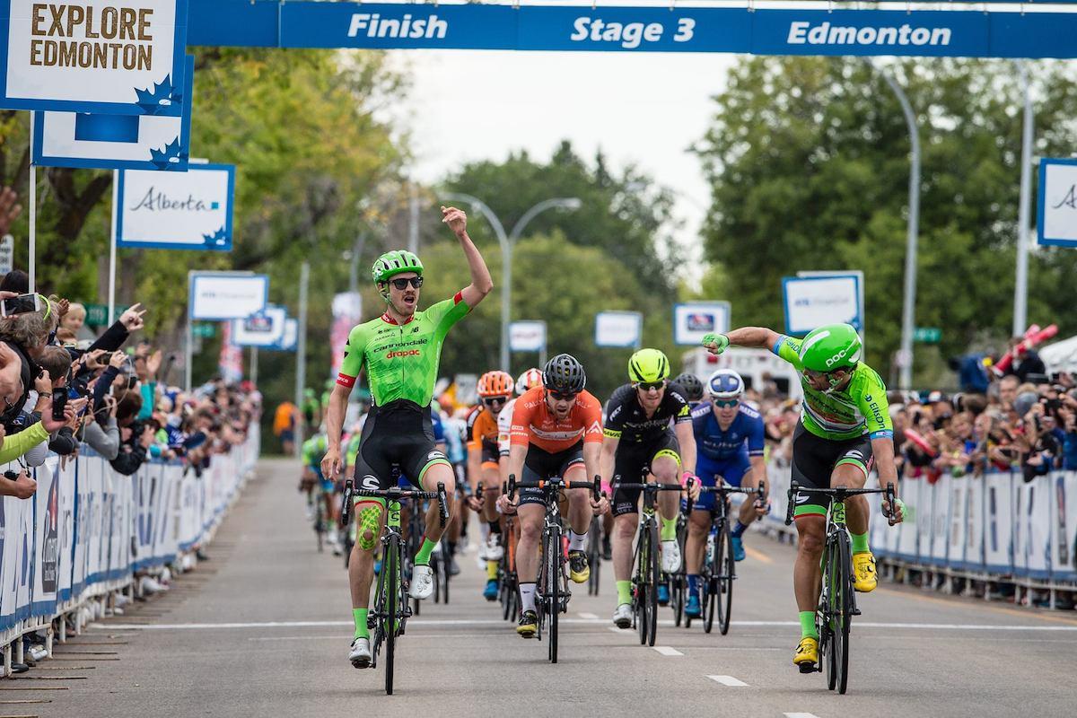 Alex Howes vince la terza tappa del Tour of Alberta