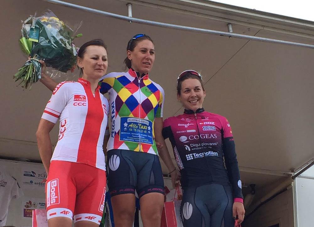 Silvia Valsecchi vince la quarta tappa del Tour de l'Ardeche