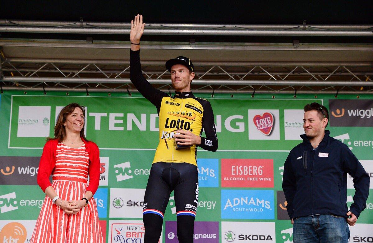 Lars Boom vince la quinta tappa a cronometro del Tour of Britain