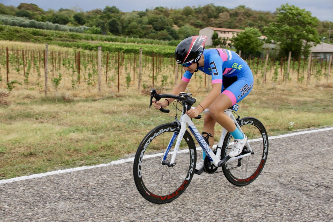 Noemi Lucrezia Eremita vince la cronometro Donne Allieve di Valeggio sul Mincio