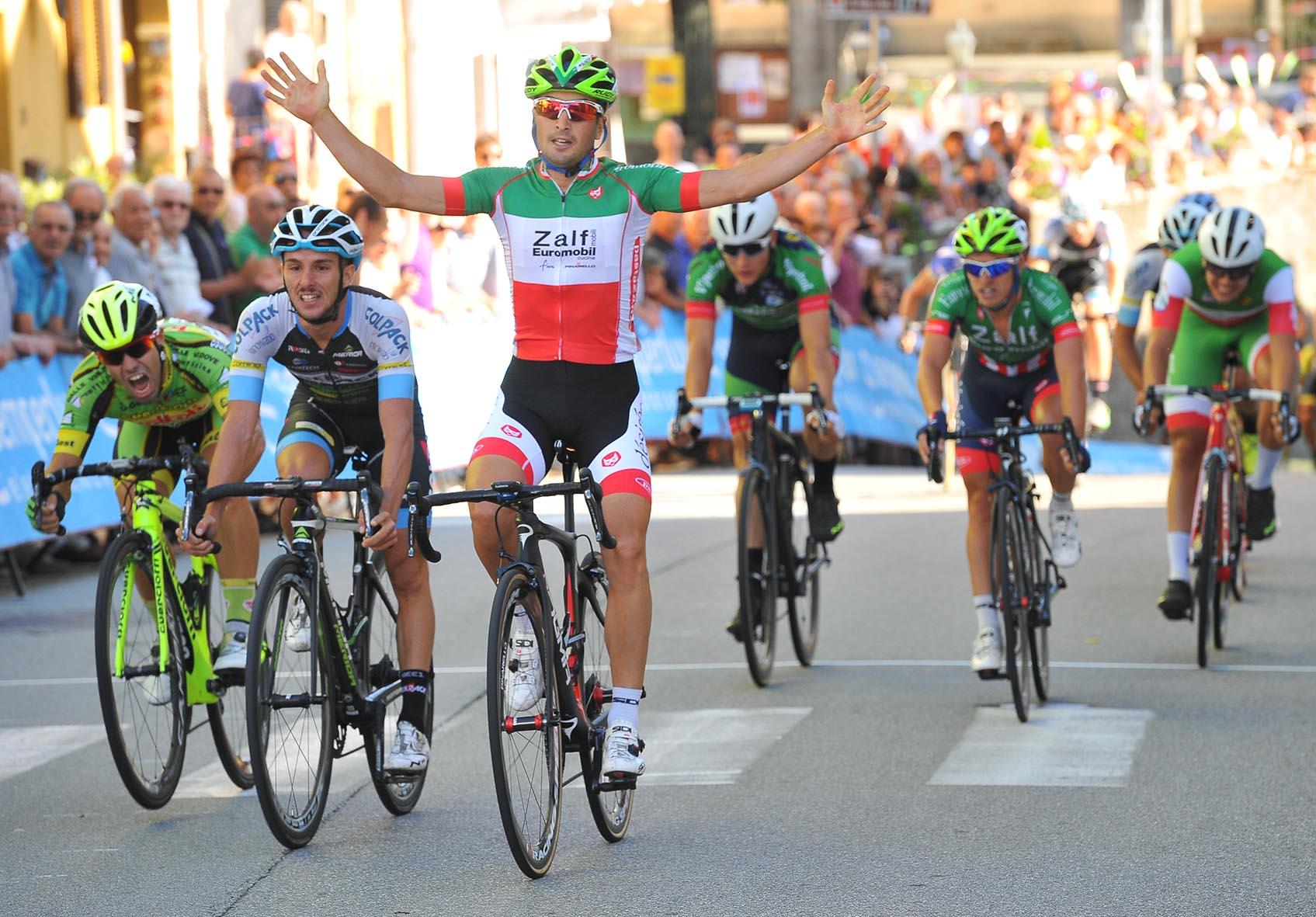 La vittoria di Gianluca Milani a Castelletto Cervo