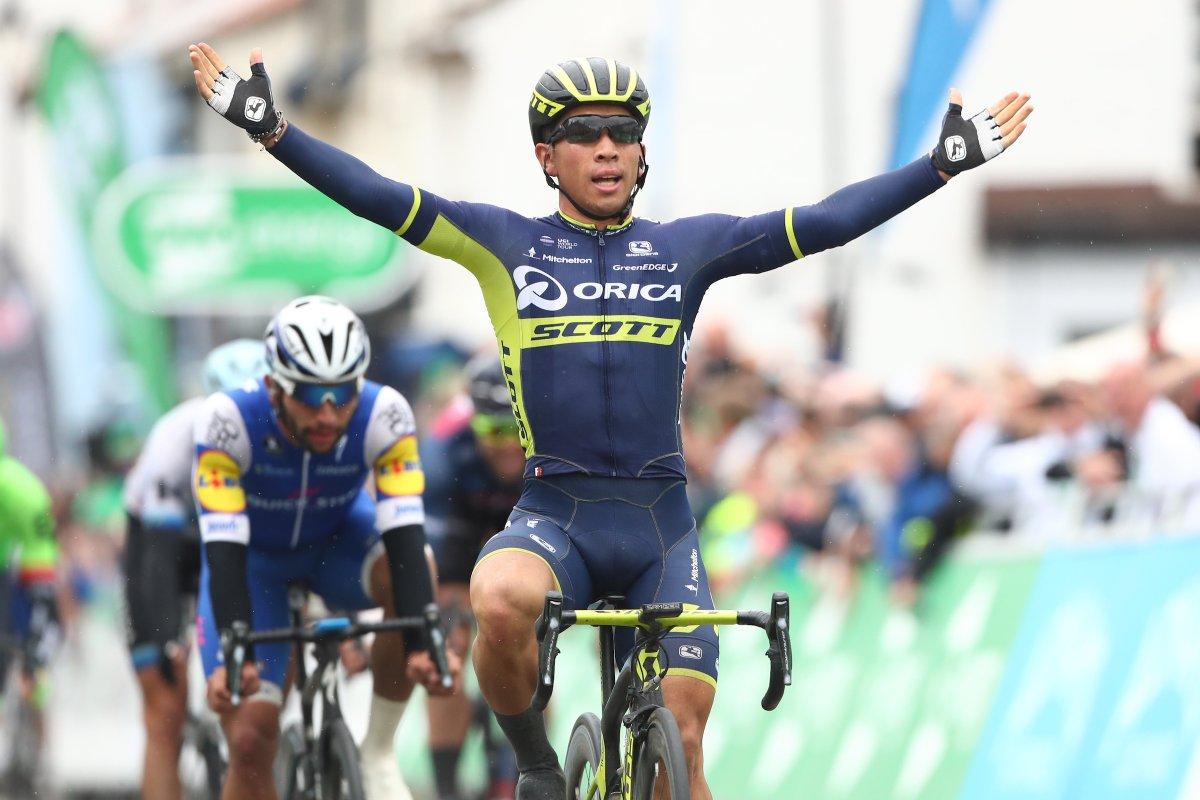 Caleb Ewan vince la sesta tappa del Tour of Britain