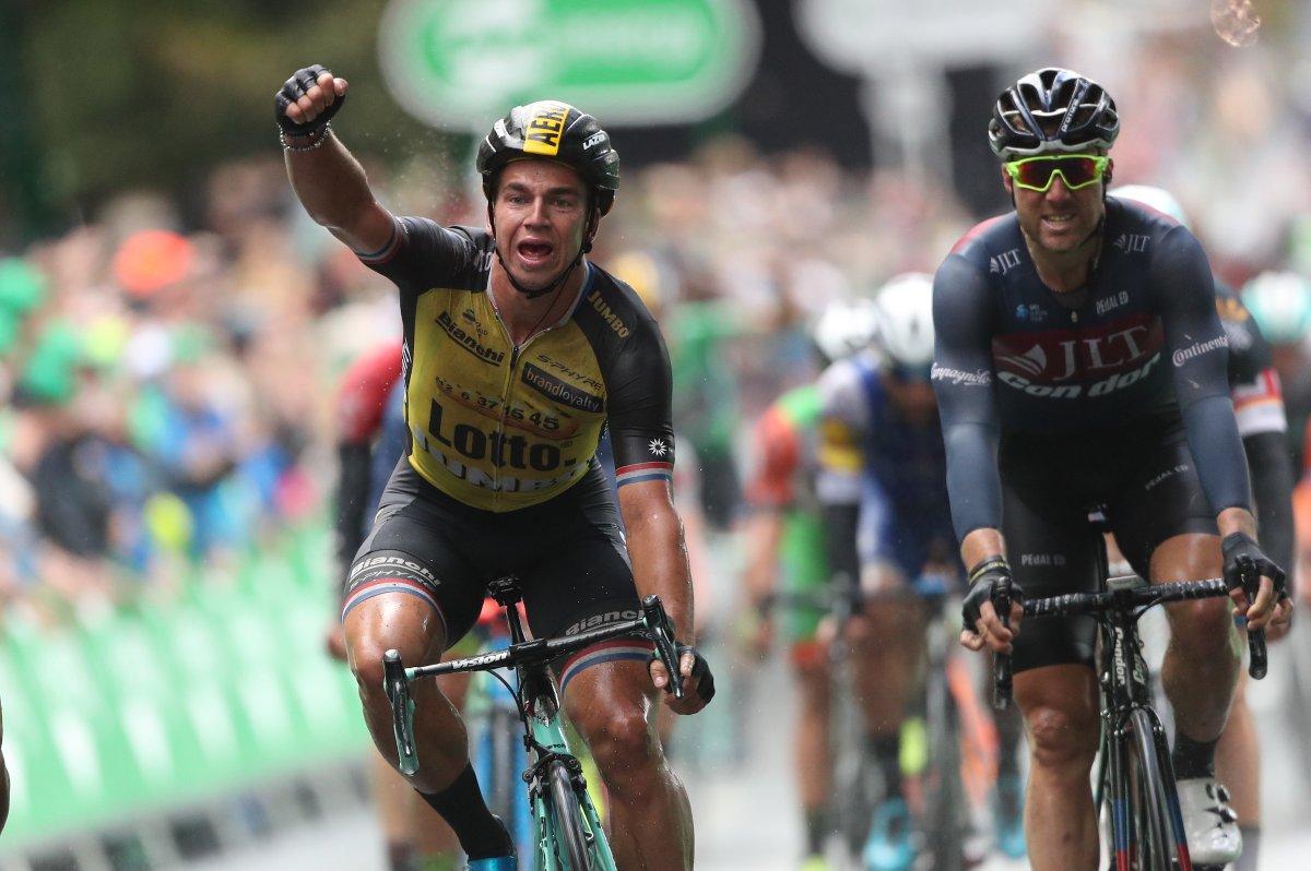 Dylan Groenewegen vince la settima tappa del Tour of Britain 2017