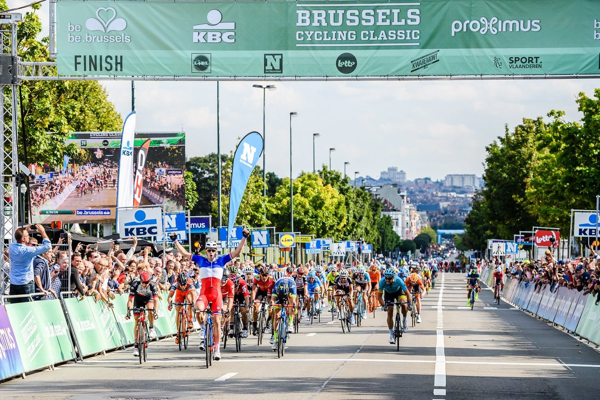 Arnaud Demare vince la Brussels Cycling Classic