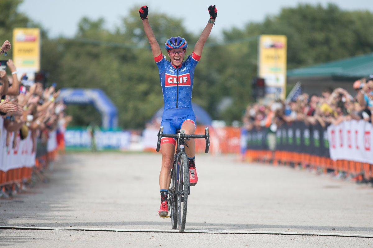 La vittoria di Katerina Nash nella prova di Coppa del Mondo Ciclocross a Iowa City