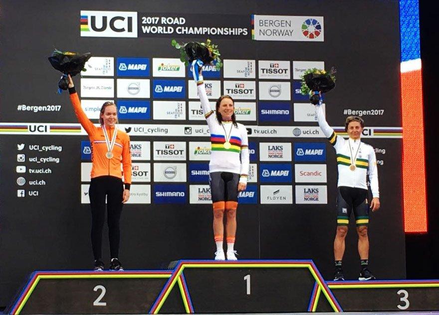Campionato del Mondo a cronometro Donne Elite 2017 vinto da AnnemiekVan Vleuten