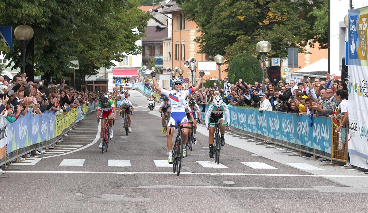 Eleonora Camilla Gasparrini vince la Coppa Rosa 2017